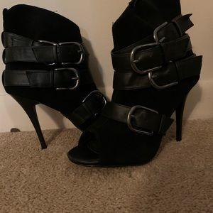 Black heels by Bakers